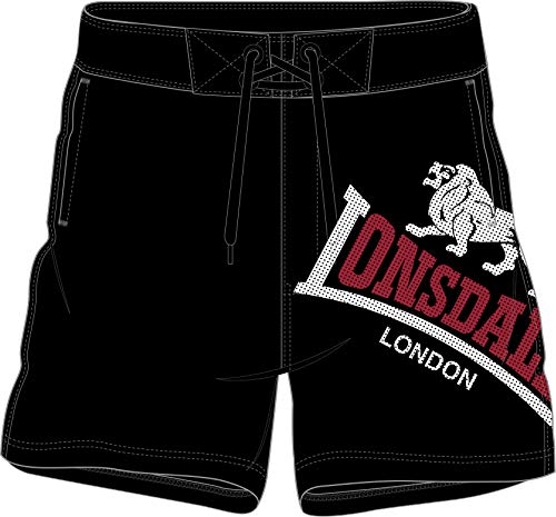 Lonsdale London Herren Badehose Atlow schwarz - 3XL