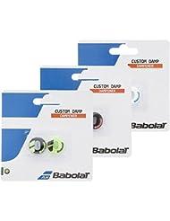 Babolat custom damp X2 black / yellow Tenis Antivibradores