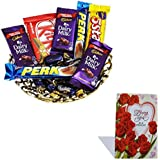 Valentine Chocolate For Girlfriend With Love Card 41