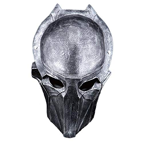 Story of life Halloween Masken Horror Predator Adler Maske Terror Film-Partei-Maskerade-Fantasie-Kostüm Cosplay Harz Maske,Silber (Leben Wie Predator Kostüm)
