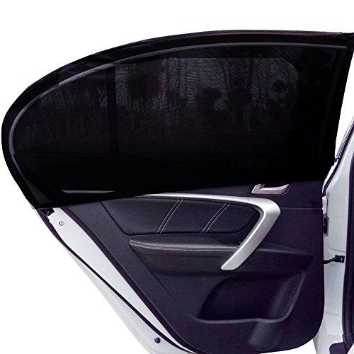 Lictin 2 Stücke Autofenster Sonnenschutz, Universelle Sonnenblende für Autos, Schützt Mitfahrter, Baby, Kinder