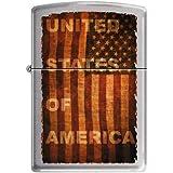 Zippo 50810948 Briquet United States Of America 3,5 x 1 x 5,5 cm