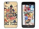 CoolChange Schutzhülle mit One Piece Motiv für das iPhone 6 / 6S Plus, Motiv: Strohhut-Bande