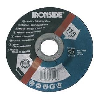 Ironside 241115 Schruppscheibe 115/6mm Metall gekröpft,Bohrung 22m