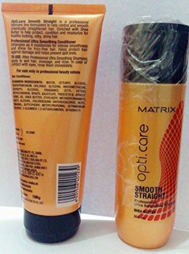 Matrix Opti Care Combo Smooth 200Ml Shampoo & 98 Gm Conditioner