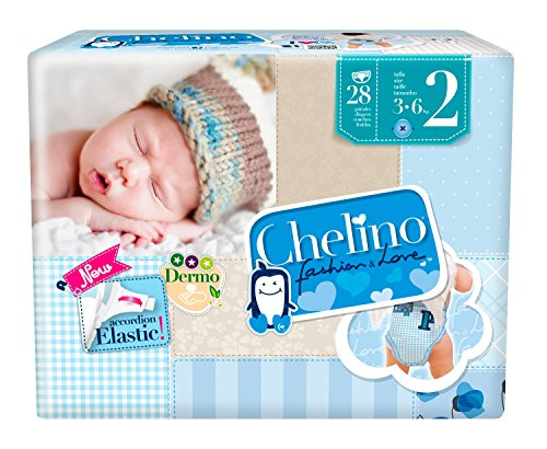 Pañales desechables Chelino Fashion & Love 28 UDS