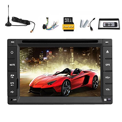 Car Stereo lettore DVD 2 DIN veicolo FM Multimedia System AM Parti CD Autoradio Audio Video Bluetooth ricevitore radio touchscreen 6.2