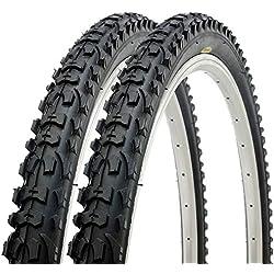 Par de Fincci por Carretera de Montaña Bicicleta Híbrida Neumático Para Cubiertas 26 x 1,95 54-559