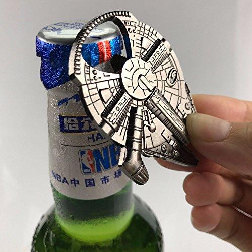 Neue kreative keychain & Kitchen Gadgets Bar Kochen Werkzeuge Raumfahrzeug Flaschenöffner Für Bier