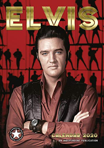 Close Up Elvis Presley Kalender 2020 Tributkalender - Wandkalender 2020, 12 Monate, original englische Ausführung. -