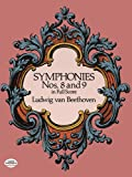 Beethoven Symphonies Nos 8 And 9 Orchestra Full Score (Dover Music Scores)