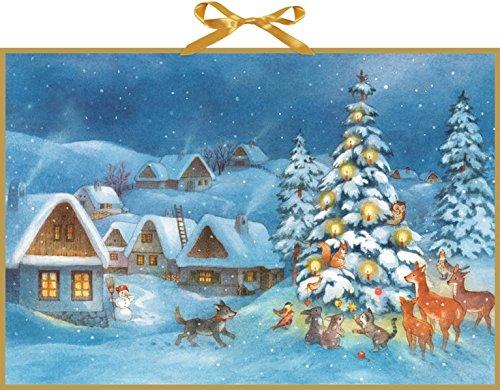 Wandkalender - Weihnachtsdämmerung