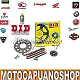 Transmisión DID Professional cadena corona piñón Kawasaki Z 75020072008