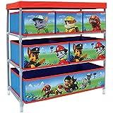 Fun House 712537Pat Patrouille estantería de almacenaje con 6compartimentos para habitación infantil