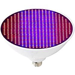 Fenteer LED Vollspektrum Pflanzenleuchte Zimmerpflanzen Grow Wachstumslampe Blumen, Profi Qualität - 2