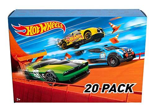 Hot Wheels DXY59 20er Pack 1:64 Die-Cast Fahrzeuge Geschenkset, je 20 Spielzeugautos, -