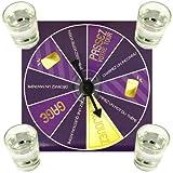 Promobo–Set servizio aperitivo futuri sposi Roulette Gioco a bere ruota della sete