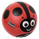 Idena 7355043 - Spielball, Motiv Marienkäfer, 22 cm