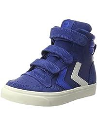 Hummel Unisex-Kinder Stadil Leather Jr Hohe Sneaker