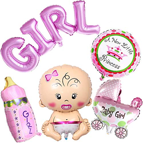 Webla-5pcs Helium Ballon Baby Shower Baby Shower Geburtstagsfeier Dekoration PK