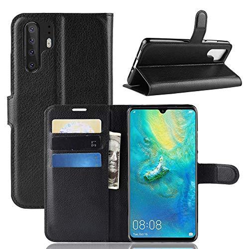 ECENCE Handyhülle Schutzhülle Case Cover kompatibel für Huawei P30 Pro Schwarz 12040105