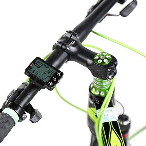 Valoxin(TM) Calcolatore della bicicletta multifunzionale senza fili