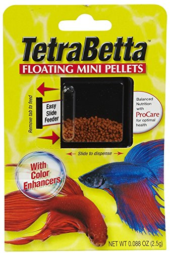 Tetra Betta Schwimmende Mini Pellets, 0.088 oz -