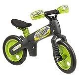 Bellelli 01BBIP0006BBY Bicicletta Pedagogica, senza Pedali Bibip, Grigio/Verde