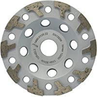 /Highly Abrasive Premium Diamond Cup Wheel 125/mm Diameter with Crescent-Shaped Diamond Segments/