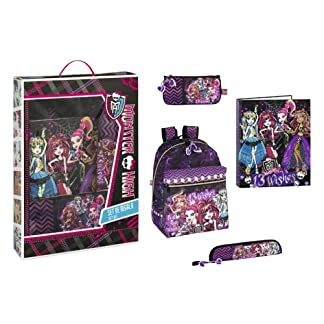 51KjlaqFiLL. SS324  - Monster High - Set de regalo escolar (Safta 311366489)