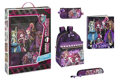 Monster High – Set de Regalo Escolar (SAFTA 311366489)