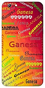 Ganesa (Popular Girl Name) Name & Sign Printed All over customize & Personalized!! Protective back cover for your Smart Phone : Sony Xperia T-3