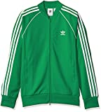 adidas Originals Men's Superstar Track Jacket, Green, 2XL