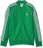 adidas Originals Men's Superstar Track Jacket, Green, 2XL