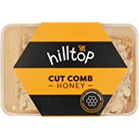 Hilltop Honey Cut Comb Slab 200g - Pure and Natural Hive To Home Premium Quality and Tested For Authenticity Certified…