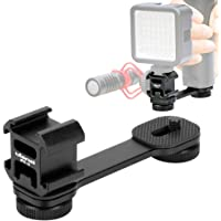 Staffa di estensione 3 in 1, per microfono BY-MM1, supporto per luce video a LED, adattatore per zhiyun Smooth 4 Q/DJI…