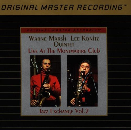 Live At The Montmartre Club: Jazz Exchange, Vol. 2 by Warne Marsh & Lee Konitz Quintet