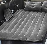 Yufuyuan Auto aufblasbare Matratze Auto Rücksitz mit Schlafsack Auto Auto Schock Bett Luftkissen Bett SUV Erwachsenen Reisebett (Farbe : Grau)