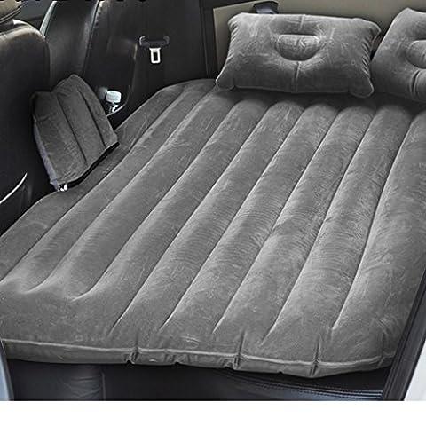 Auto aufblasbare Matratze Auto Rücksitz mit Schlafsack Auto Auto Schock Bett Luftkissen Bett SUV erwachsenen Reisebett ( Color : Gray )
