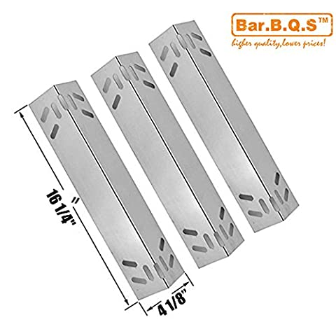 Bar.b.q.s H91521 (3-pack) Stainless Steel Heat Plates, Heat Shield, Heat