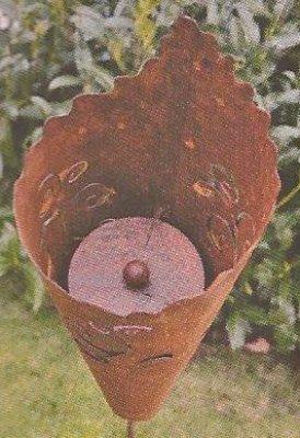 Patine–Torche avec ornements incl. Combustion Pot