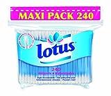Lotus - Sachet de Coton-tige - Lot de 4 sachets de 240 cotons-tiges