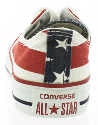 Converse Chuck Taylor All Star, Sneakers Unisex - Adulto Multicolore (Stars Bars)
