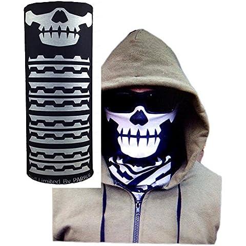 Monkey Skull Call of Duty Uv Protection Fishing Buff Mask Scarf Bandana Headband Headwear Pb175 Milspec Monkey SKULL FACE Mask Multi Wrap Head Gear by Tamegems Headwear
