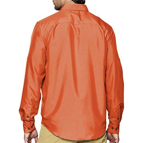 Under Armour UA Chesapeake camicia a maniche lunghe Hipster / Bark