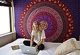 Indisch Mandala Wandteppich Hippie Bunt Wandbehang Baumwolle Tapisserie Floral Tapestry Von Rajrang