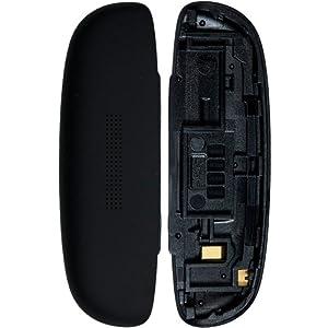 Original HTC Akkudeckel für das HTC One S - black / schwarz (Akkufachdeckel, Batterieabdeckung, Back-Cover, Rückseite)