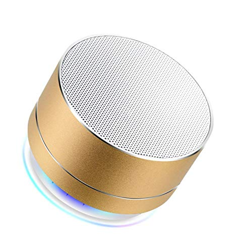 Qpw Bluetooth-Lautsprecher Stahl Pistole 2.0 Handy Audio Funklautsprecher 71 * 71 * 46 mm