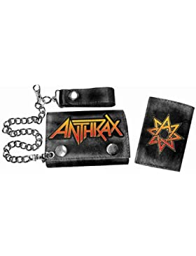 Bioworld Merchandising - Anthrax porte-monnaie avec chaînette Hot Logo