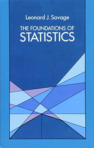 The Foundations of Statistics (Dover Books on Mathematics) por Leonard J. Savage
